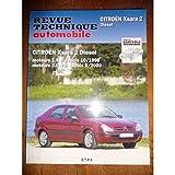 RRTA0644.1 - REVUE TECHNIQUE AUTOMOBILE CITROEN XSARA 2 Diesel