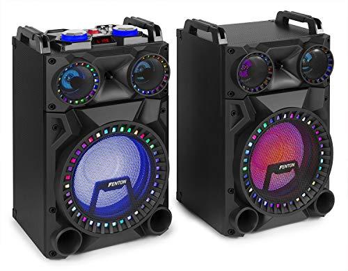 Fenton VS12 Aktives Lautsprecher-Set- Leistung: 1200 Watt, 12