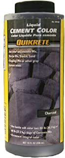 Quikrete 1317-00 Liquid Cement Color, 10oz, Charcoal