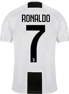 NTauthentic Juventus 7 Ronaldo Shirt Soccer Shirt for Mens White