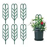Comius Sharp Kletterpflanzen Unterstützung, 6 Stück DIY Garten Pflanzkübel Mini Kletterpflanzen...