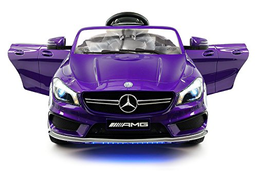 2018 12V Mercedes CLA45 Electric Powered Battery Operated LED Wheels Kids Ride on Toy Car With Parental Remote Control