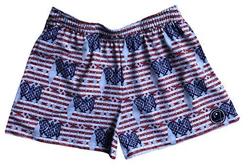 LAX SO HARD Womens American Lacrosse Shorts, Medium