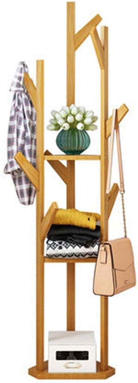 Qi_Hallway Furniture Coat Rack, Hanger Floor Style Bedroom Simple Creative Clothes Rack Coat Rack Home Floor Stand Simple Standing Coat Racks