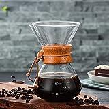 Venta al por mayor de alta temperatura resistente a la cafetera de café cafetera café espresso cafetera con maceta de filtro V60 de acero inoxidable (Color : 01)