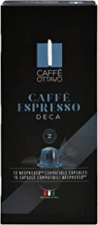 Deca Espresso by DolceVita - Dolce Gusto Compatible Capsules , Fresh & Authentic , Fully Flavored , Delicious & Smooth Tex...