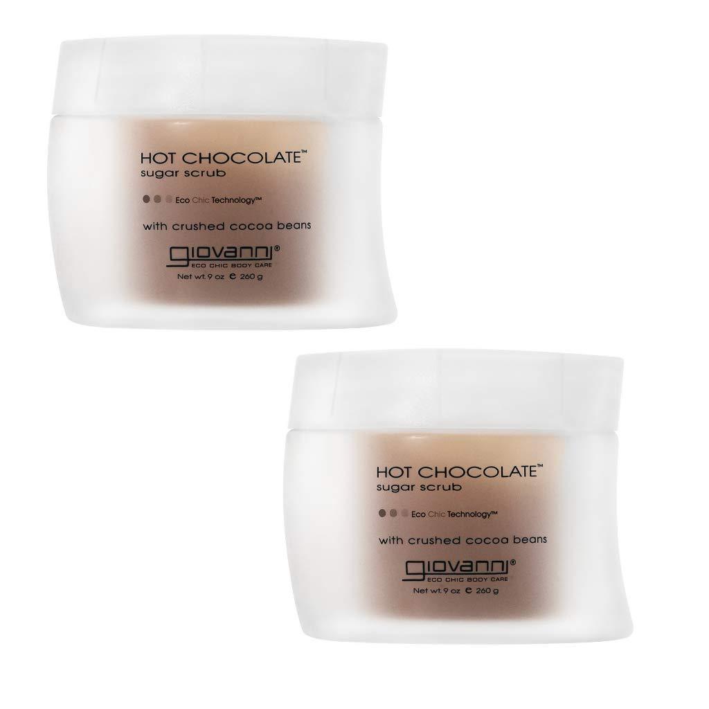 GIOVANNI Hot Chocolate Sugar Body Scrub Complete Miami Mall Free Shipping 9 Ex oz. Warming Gentle
