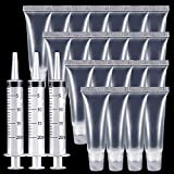 BAGTeck Lip gloss Empty Tubes Containers(10ml),20ml Plastic Syringe...