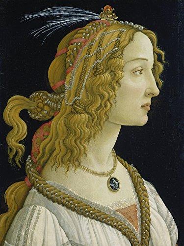 Artland Alte Meister Wandbild Sandro Botticelli Weiblichesdealbildnisangeblich der Simonetta...