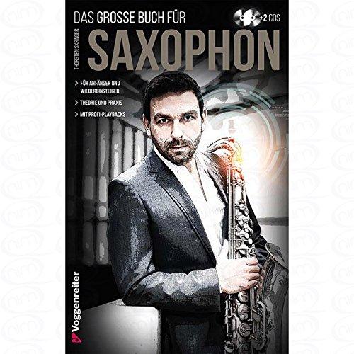 Het grote boek voor saxofoon - gearrangeerd voor saxofoon - met 2 cd's [noten/Sheetmusic] component: SKRINGER THORSTEN