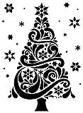 Darice Embossing Folder Carpetas de estampación, Plantilla árbol de Navidad, Plastic, 10,8 x 14,6 cm