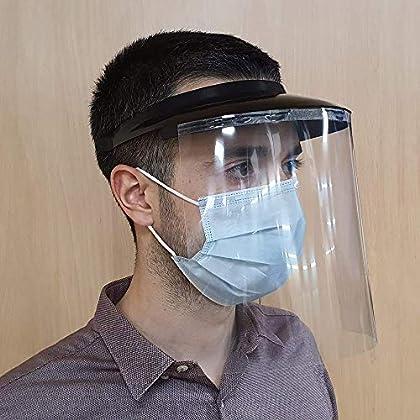 Pantalla Protección Facial, Protector Facial, Visera anticontagio, Pantalla Facial Transparente, Fabricado en España…