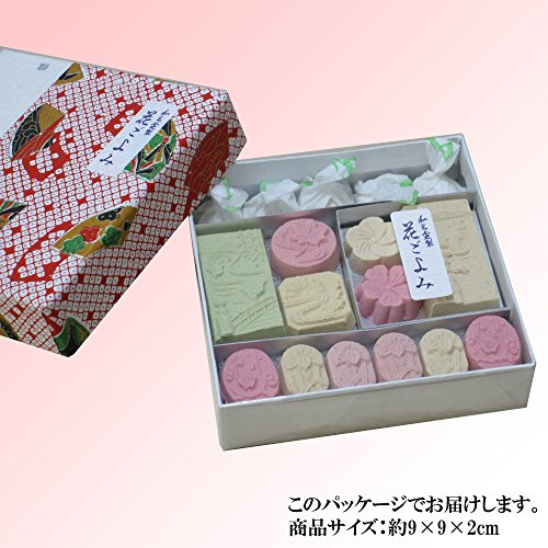 京菓子富久屋『和三盆糖花ごよみ』