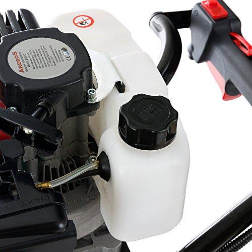 Arebos Tarière Thermique à Essence 2.18 CV 52 CC avec Foret 100/150/200 mm