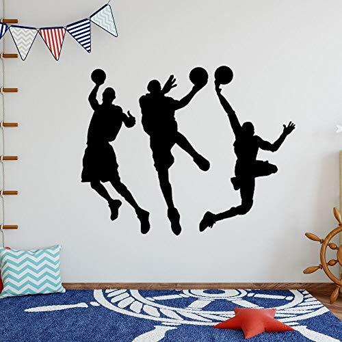 JXND Nuevo Baloncesto Duncan calcomanía diseño artístico decoración de la Sala de Estar Pegatina de Pared 85x85cm