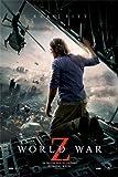 World War Z Poster Brad Pitt (61cm x 91,5cm) + Ü-Poster
