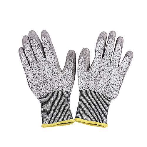 KANKOO Schnittschutzhandschuhe Handschuhe Schnittfest Handschuhe Arbeit Sicherheit Gartenhandschuhe Damen Gartenarbeit Handschuhe Gärtner Handschuhe XL