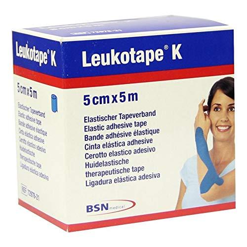LEUKOTAPE K 5 cm blau 1 St