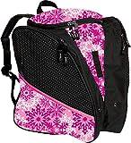 Transpack ICE Skate Backpack - Pink Snowflake