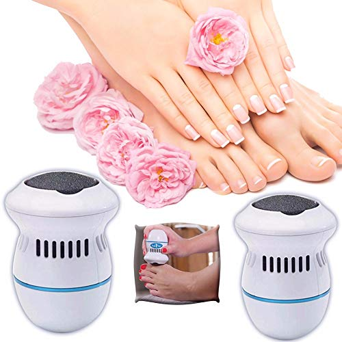 profession Best Electric Callus Remover and Shaver for Men Women Feet Dry Hard Dead Skin Callused Portable Foot File Pedicure Tools Ideal Gift Soft Smooth Feet