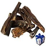 10 kg Rinderpansen getrockneter Pansen Blättermagen vom Rind Hundefutter Kausnack