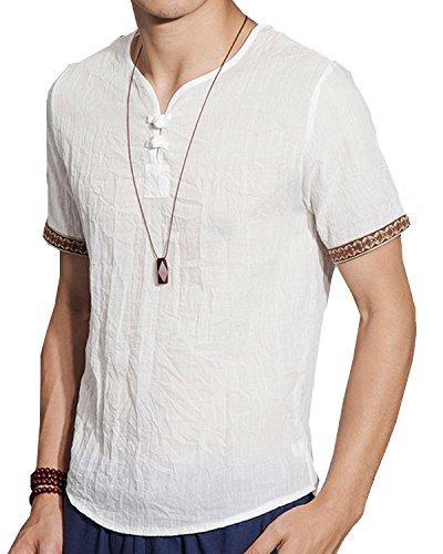 Camisa Cuello Mao marca Aishang