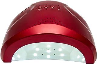 ZXLIFE@@ Lámpara De Curado De Uñas, Lámpara De Uñas UV Led, Lámpara De Secado De Pulido con Pulidor con 30 Led Y 3 Tipos De Ajuste De Tiempo para Secador De,Red