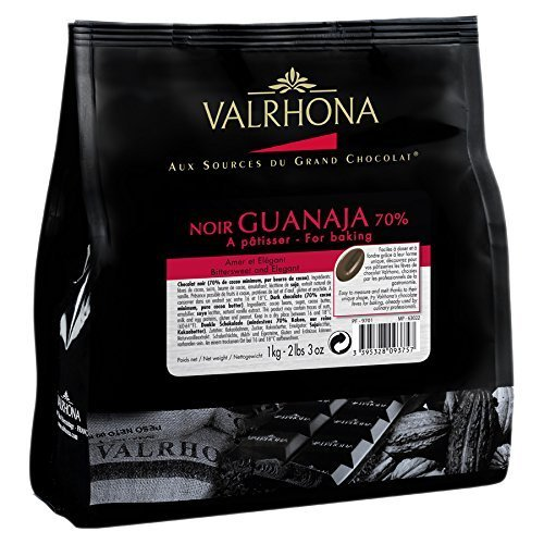 Valrhona Chocolat Noir, Guanaja 70%, 1kg
