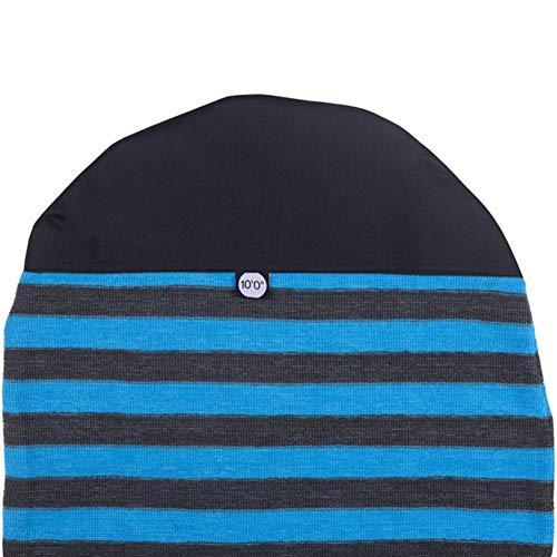JCMY Accesorios de Surf 10'0' 300 cm Tabla de Surf calcetín 10 pies. Surf Longboard Nariz Redonda Bolso de la Cubierta Suave Tramo de protección Terry Tejido de Punto para Surfear, Playa, mar.