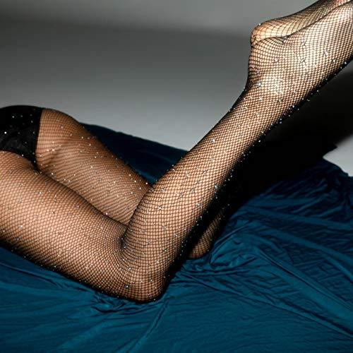 Sexy Frauen Diamant Netzstrumpfhose Mesh Strumpfhosen Strass Nylons Glänzende Strumpfhosen Collant Strumpfwaren Fisch Netz Strumpf