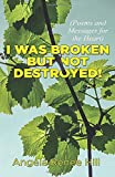 I was broken but not destroyed: Poems and messages for the heart