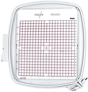 SewTech Quilter's Hoop 200x200mm (8x8) Viking Designer Ruby DeLuxe Diamond PFAFF Creative Equivalent Part #920264096 82094...