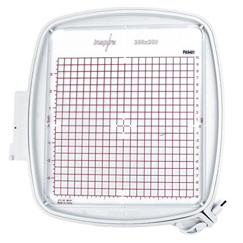 """SewTech Quilter's Hoop 200x200mm (8""""x8"""") Viking Designer Ruby Deluxe Diamond PFAFF Creative Equivalent Part #920264096, 820940096"""