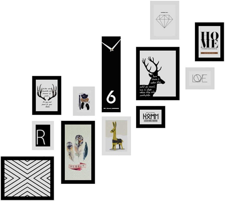 tomar hasta un 70% de descuento JLN-Photo Wall Escalera combinación de Parojo y Foto Foto Foto Marco de Fotos Creativo apartamento dúplex de Gran tamao Colgante de Parojo Combinación Decoración Efecto Visual Dimensional Decoración del hogar  tienda