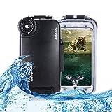 Unterwasser Tauchen Fall 40m wasserdichte Handy-Abdeckung kompatibel mit iPhone, professionelle...