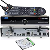 OCTAGON SF8008 4K UHD HDR Twin Sat Festplattenreceiver 2xDVB-S2X Multistream - E2 Linux IPTV Smart TV Box, Media Server, PVR Receiver mit Aufnahmefunktion - inkl. HDMI-Kabel & Dual WiFi [2TB intern]