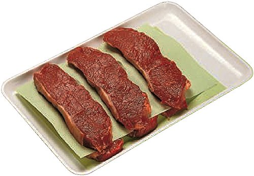 1000 x Steakpapier   19 cm x 38 cm (5,35 €/ 100 Stück)