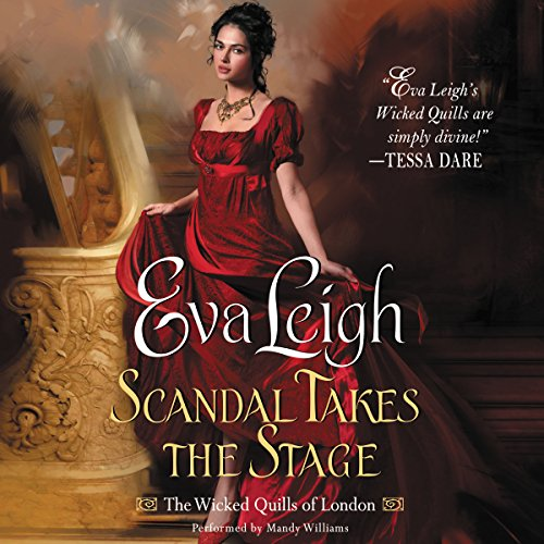 Scandal Takes the Stage audiobook cover art