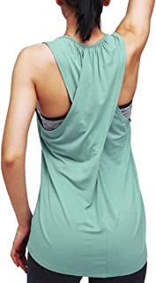 Mippo Workout Tops for Women Yoga Tops Athletic Racerback...