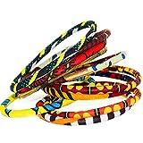 Bracelet en wax - Bracelets pour femme - bracelet africain - bracelet ethnique - lot de 10 bracelets