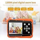Lukame 1080P Hd Waterproof Kids Digital Camera Self Adhesive Creative DIY Video Tape