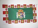 AZ FLAG Bandera de la Provincia DE CÁDIZ 150x90cm para Palo - Bandera CÁDIZ ENANDALUCÍA 90 x 150 cm