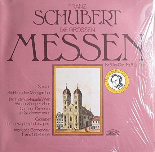 Franz Schubert. Die grossen Messen. Nr.5 As-Dur. Nr.6 Es-Dur. Vinyl LP.
