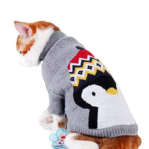 ZWW huisdier kleding, schattig patroon voor hond truien voor kleine en middelgrote honden