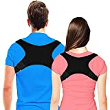 Yomitek Back Posture Corrector for Women & Men-Comfortable Upper Back Brace,Back Support Adjustable