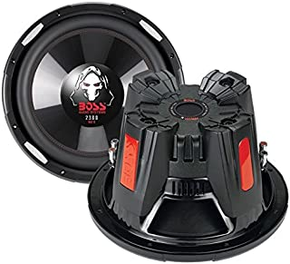 BOSS Audio Systems P126DVC Phantom 12-Inch 2300 Watts 4 Ohm Dual Copper Voice Coal Car Audio Stereo Subwoofer Speaker with... photo
