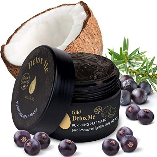 Tilk! Anti Pickel Maske, Gesichtsmaske Beauty, Blackhead Deep Cleansing Mask, Mitesserentferner Maske, Gesichts Maske zur Pflege Gegen Unreine Haut, Maske Beauty, Naturkosmetik, Vegan 50ml