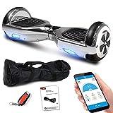 Smartway Balance Scooter 6, 5 Zoll 600W-Motion V.5 mit App Funktion, Bluetooth Lautsprecher, Kinder Sicherheitsmodus, Elektro Self Balance E-Scooter,...