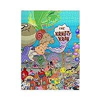 スポンジ ボブ Spongebob Squarepants アニメ ジグソーパズル 500ピース キャラクター パズル 減圧 レジャー 萌えグッズ プレゼント グッズ 子供 大人 初心者向け 生日プレゼント