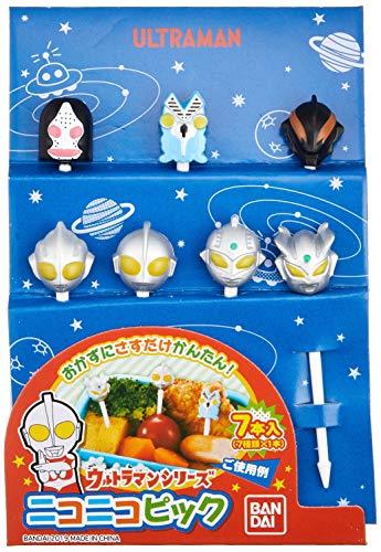 トルネ弁当デコレーション用品ニコニコピックウルトラマンシリーズ7本入(7種類×1本)2407832